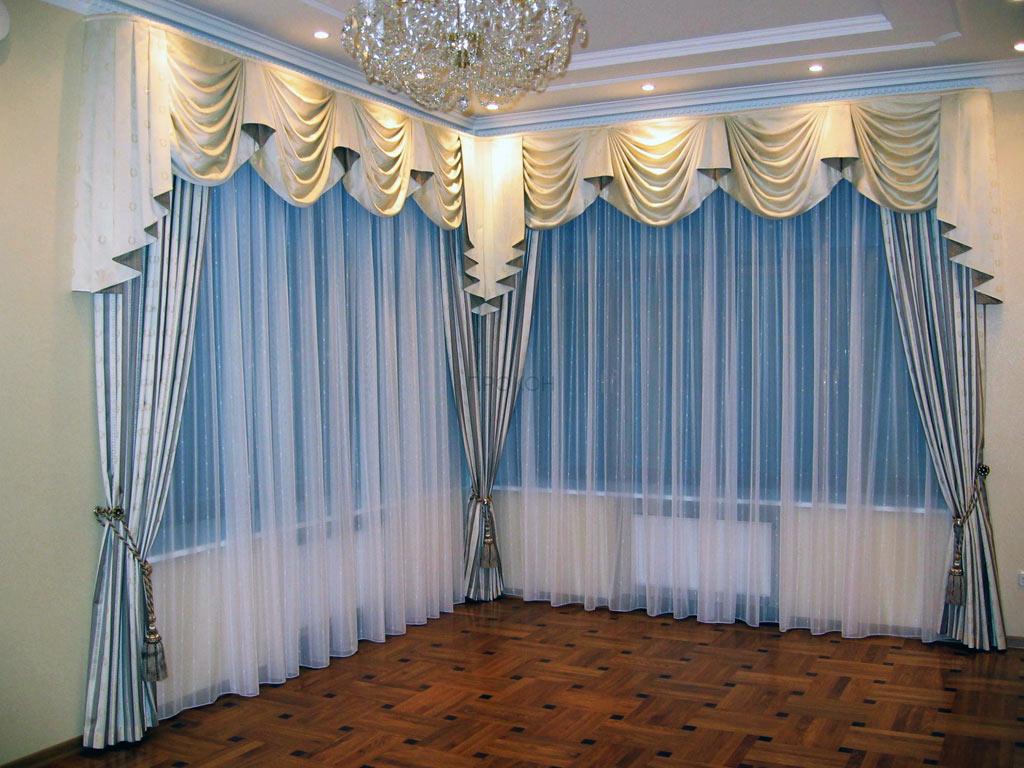 Сшить шторы в гостиную фото
